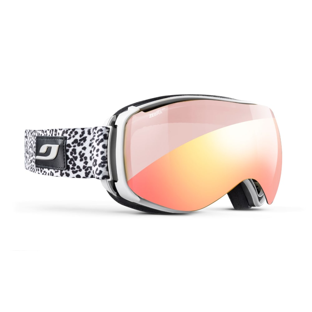 JULBO Starwind Goggles, White Panther - Zebra Light Red - WHITE PANTHER