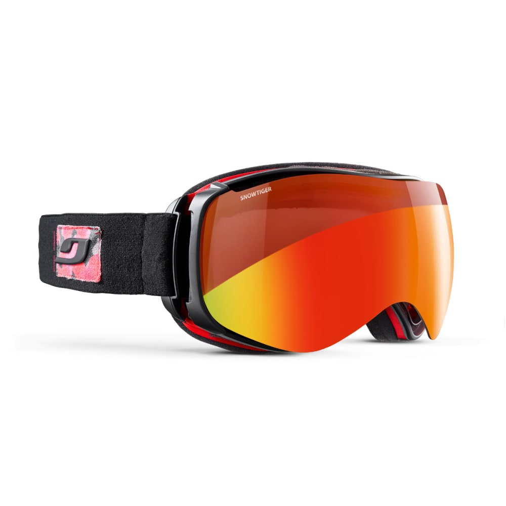 JULBO Starwind Goggles, Black/Red - Snow Tiger - BLACK ARMY/RED