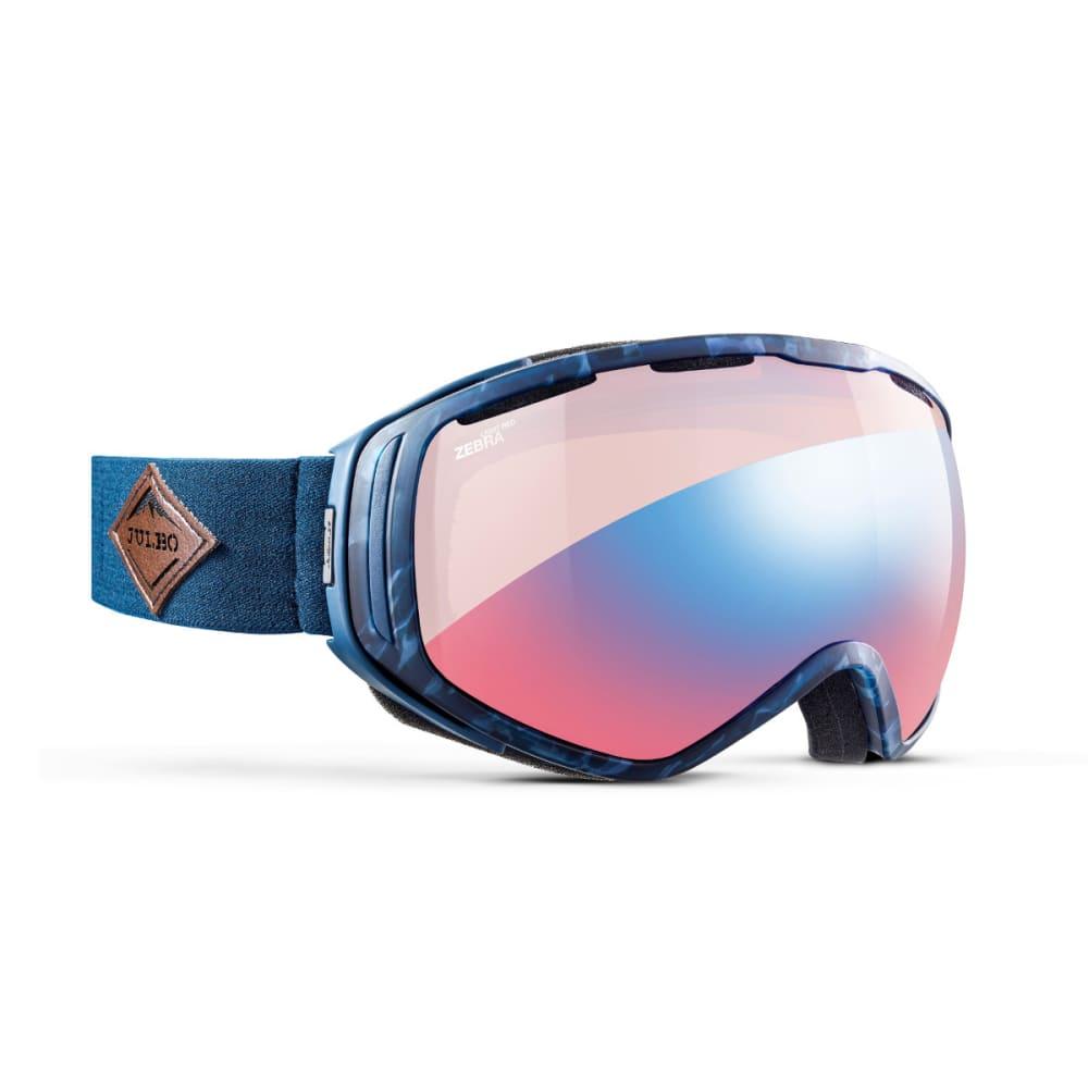 JULBO Titan Goggles, Tortoiseshell/Blue - Zebra Light Red - TORTOISESHELL BLUE
