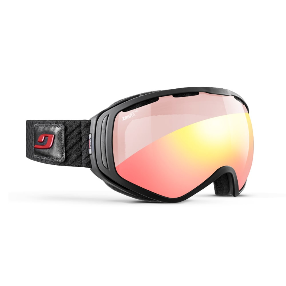 JULBO Titan OTG Goggles, Black - Zebra Light Red - BLACK/WELCOME