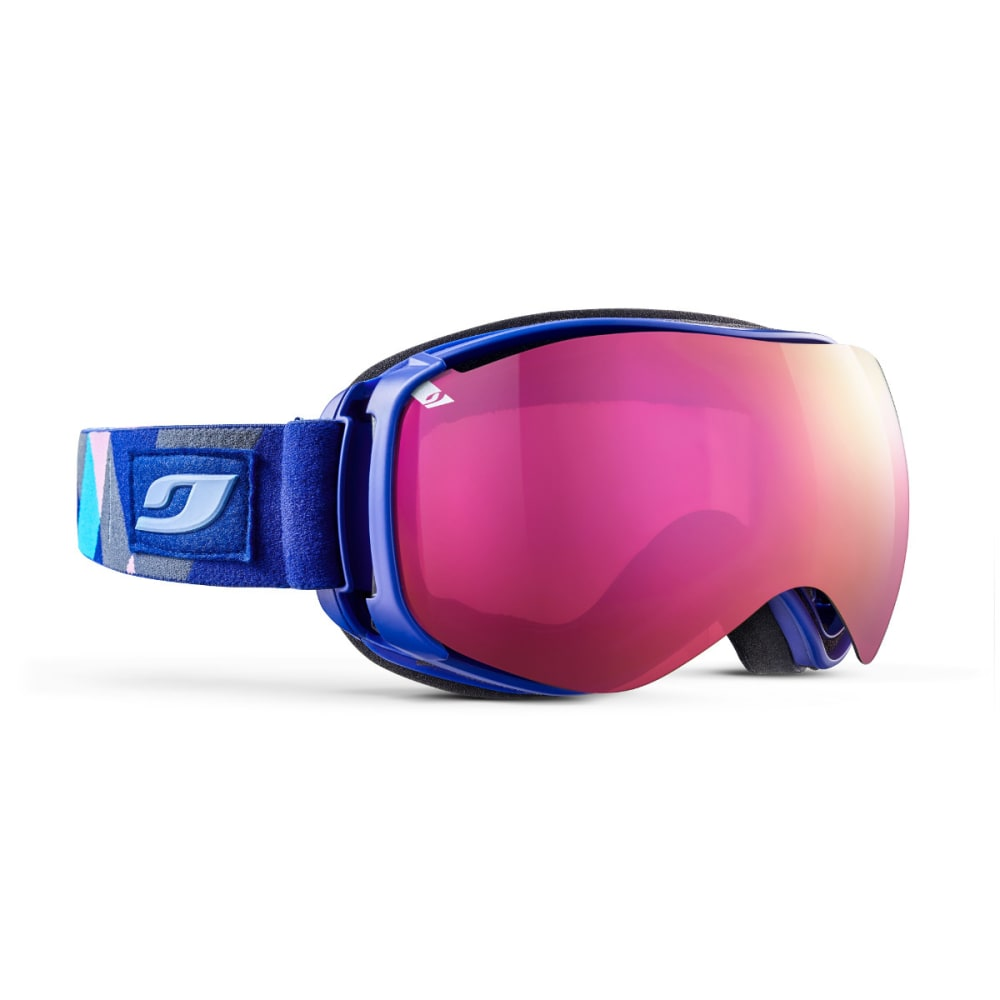 JULBO Ventilate Goggles, Kaleido Blue - Mirror Spectron Double Lens Cat. 3 - BLUE KALEIDO