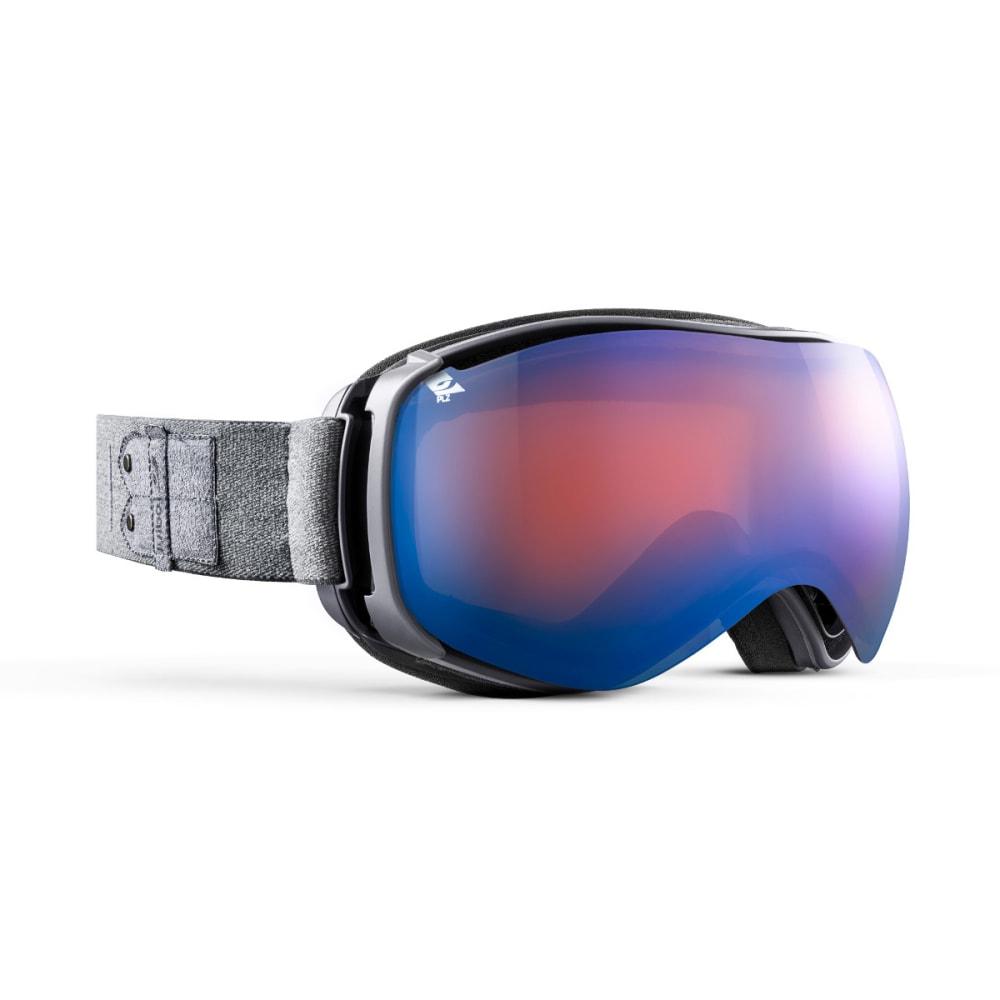 JULBO Ventilate Goggles, Grey - Mirror Spectron Polarizing Double Lens - GREY