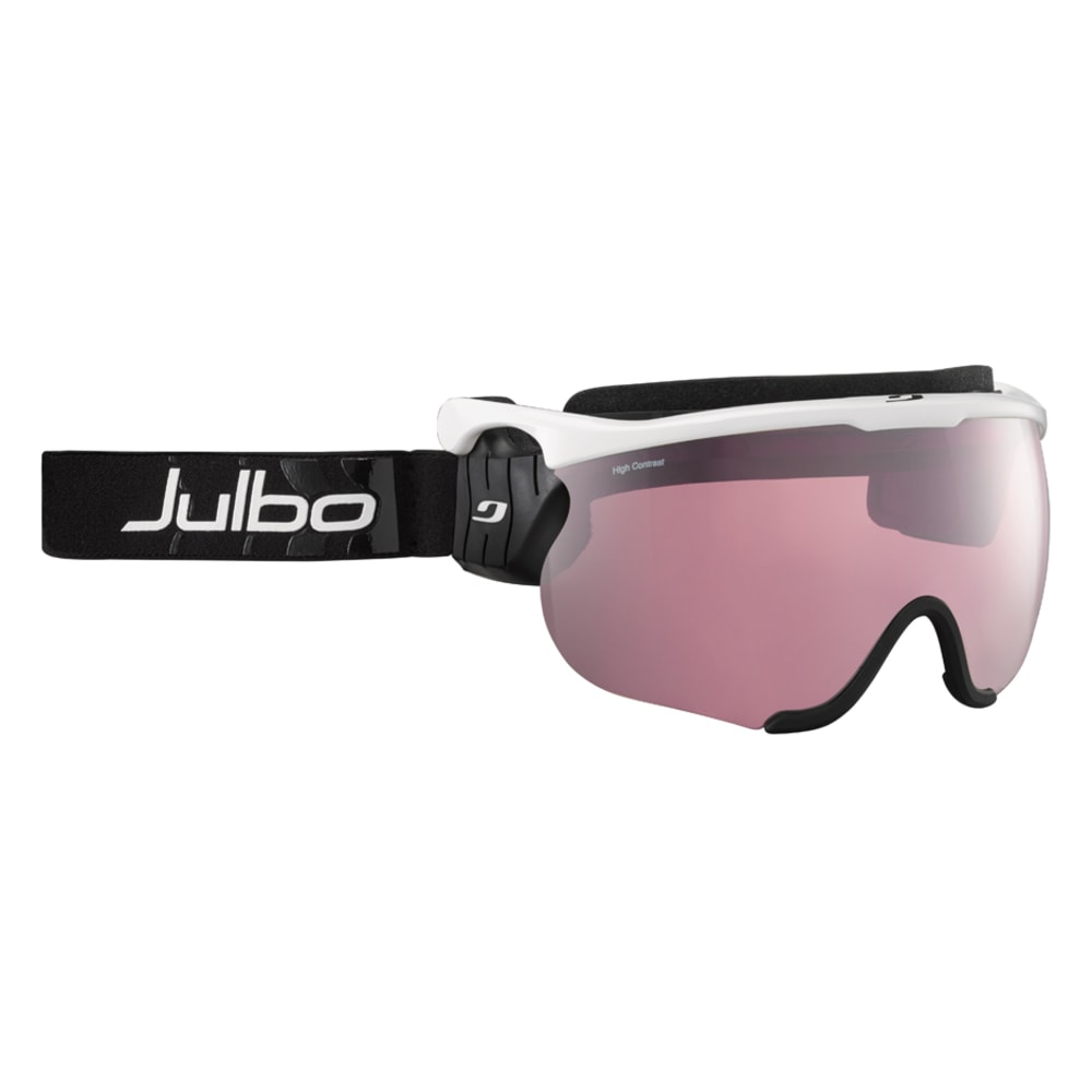 JULBO Sniper L Goggles, White/Black - Interchangeable Lenses 0+2+3 - WHITE/BLACK