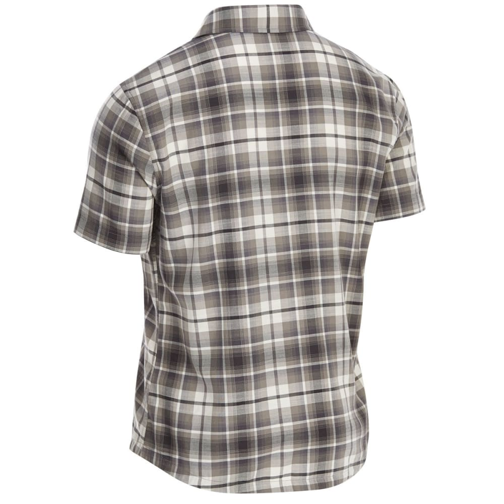 EMS Men's Ranger Plaid Short-Sleeve Shirt - CASTLEROCK