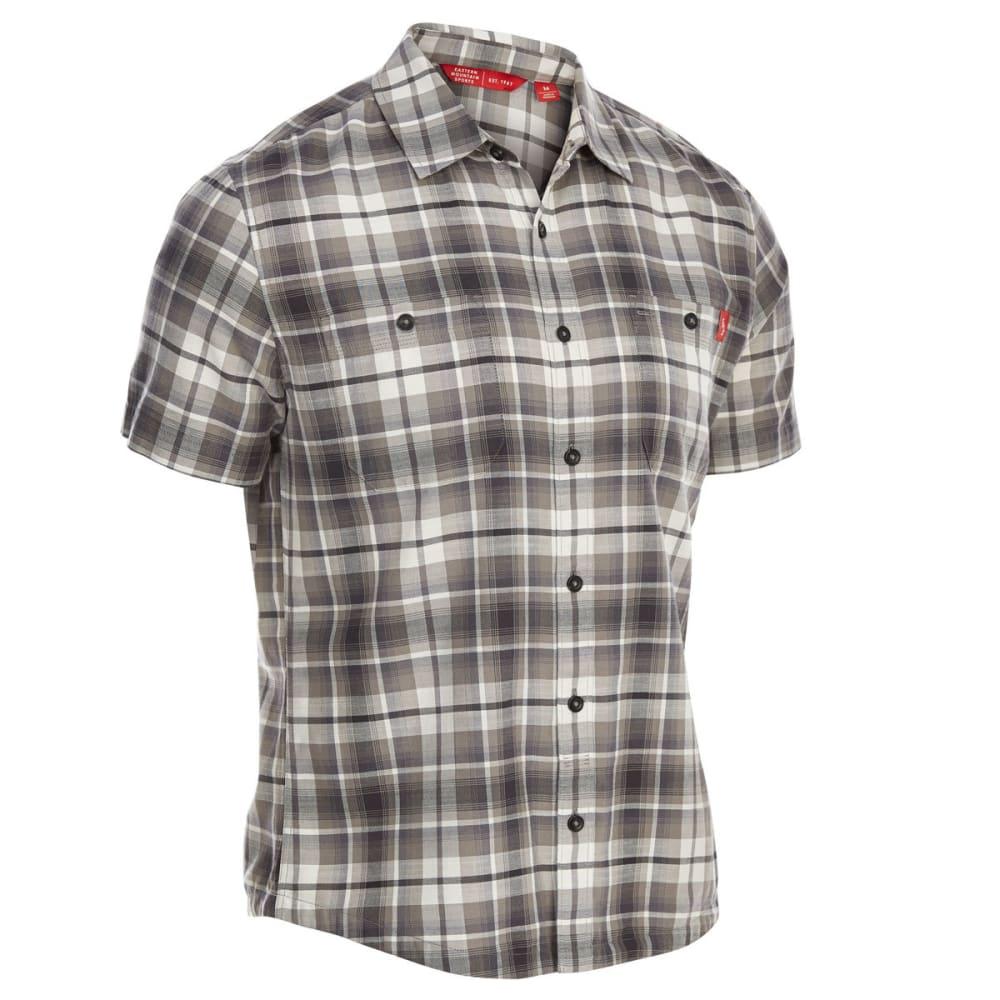 EMS Men's Ranger Plaid Short-Sleeve Shirt - CASTLEROCK