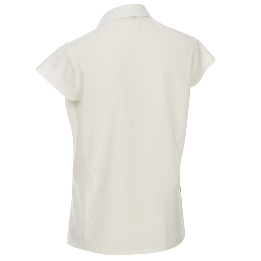 EMS Women's Techwick Traverse UPF Short-Sleeve Shirt - COCONUT MILK