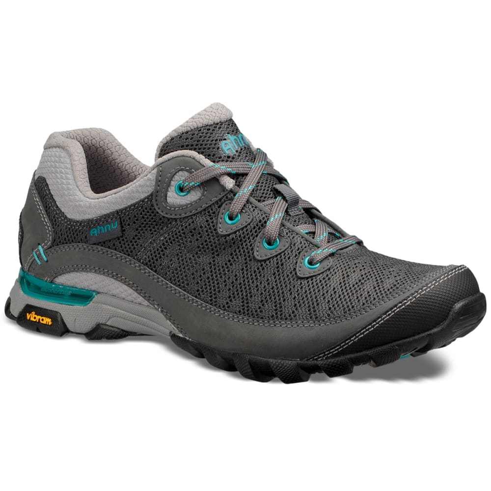 AHNU Women's Sugarpine II Air Mesh Low Hiking Shoes - DARK SHADOW