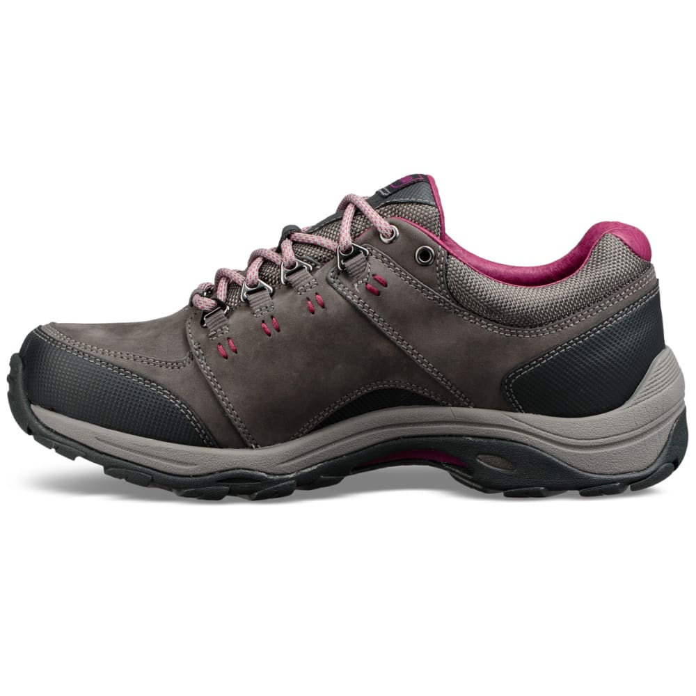 AHNU Women's Montara III Event Waterproof Low Hiking Shoes - CHARCOAL GREY-CHGR