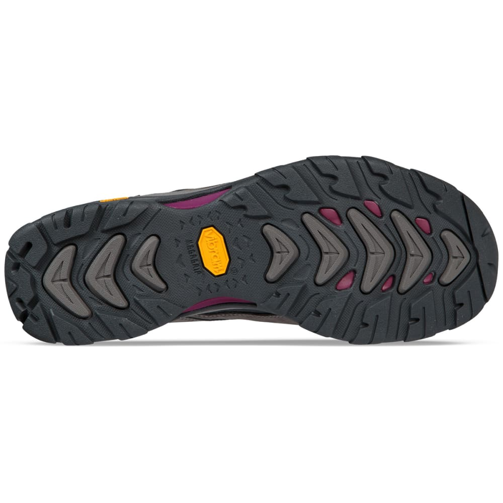 AHNU Women's Montara III Event Waterproof Low Hiking Shoes - CHARCOAL