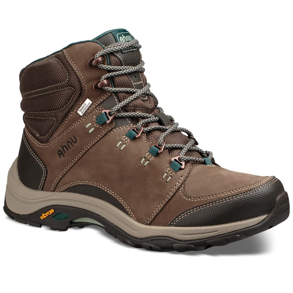 AHNU Women's Montara III Event Waterproof Mid Hiking Boots - CHOCOLATE CHIP