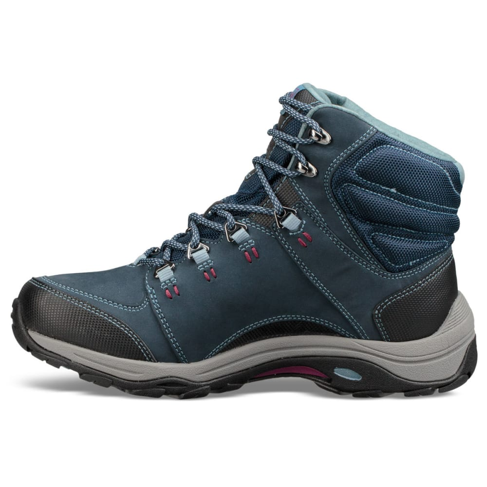 AHNU Women's Montara III Event Waterproof Mid Hiking Boots - BLUE SPELL-BSP