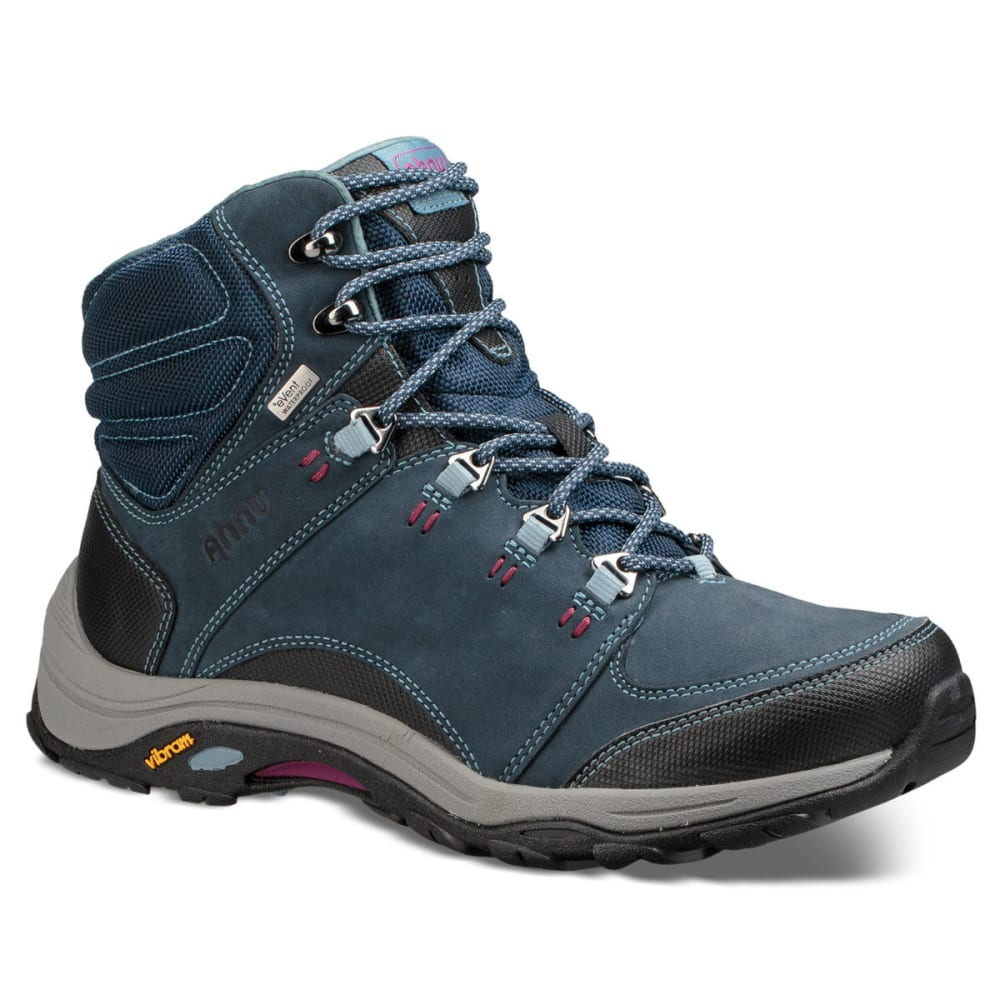 AHNU Women's Montara III Event Waterproof Mid Hiking Boots - BLUE SPELL-BSP