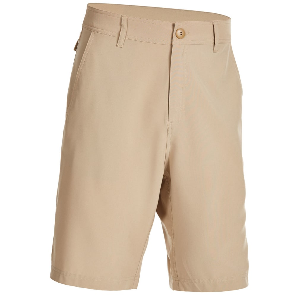 EMS Men's Techwick Journey Hybrid Shorts - CHINCHILLA