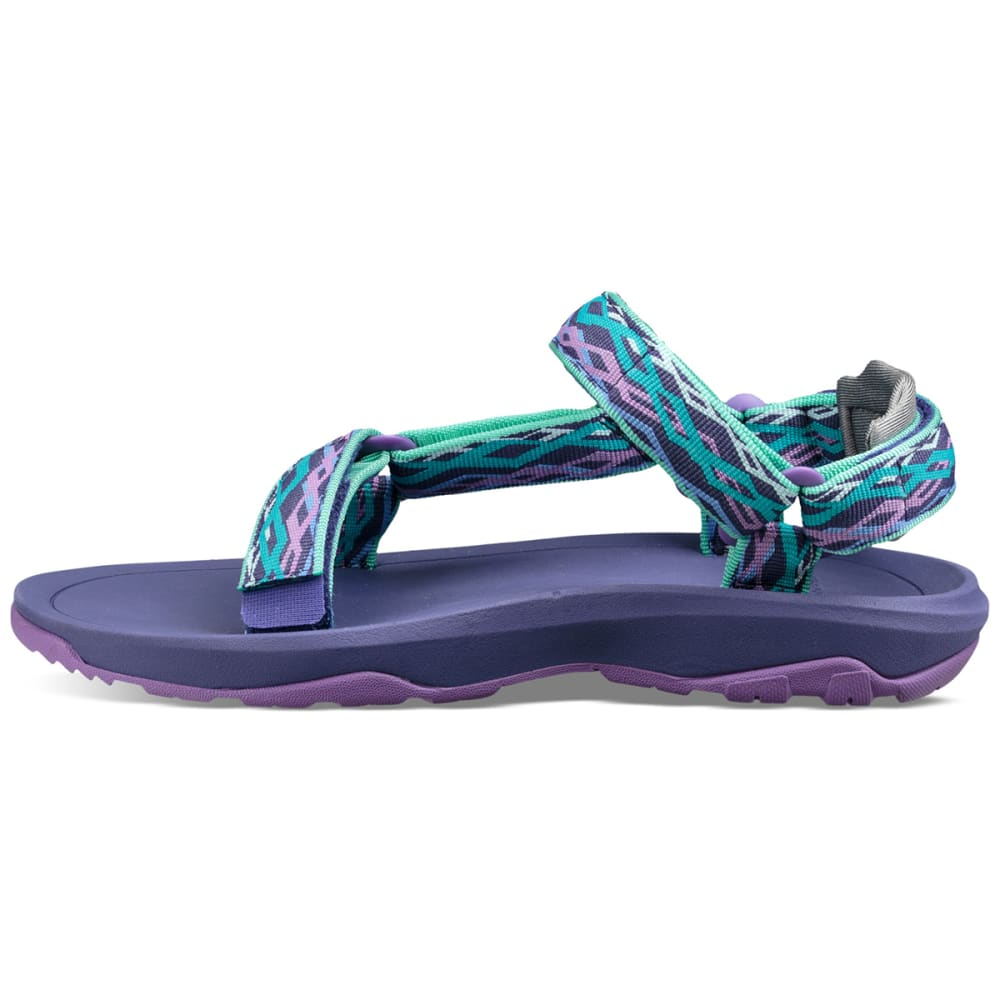 TEVA LIttle Boys' Hurricane XLT 2 Sandals - SEA GLASS/PURP-DSGP