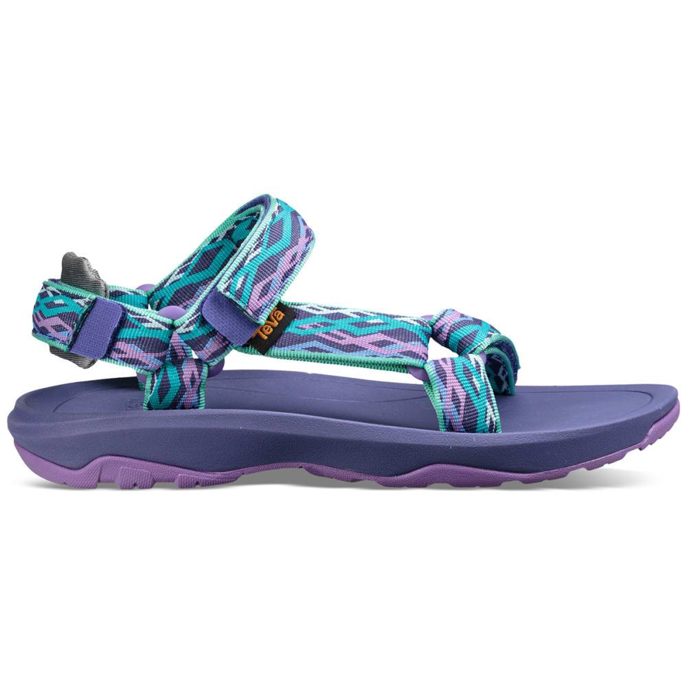 TEVA Boys' Hurricane XLT 2 Sandals - SEA GLASS/PURP-DSGP