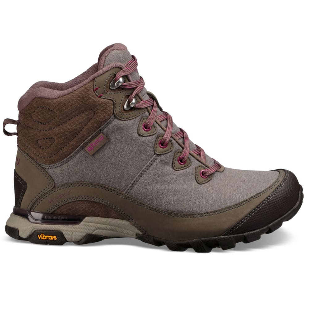 AHNU Women's Sugarpine II Mid Waterproof Hiking Boots - WALNUT