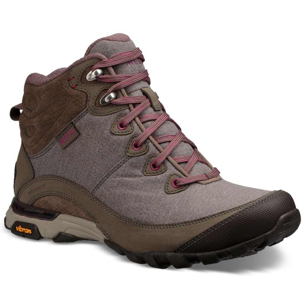 AHNU Women's Sugarpine II Mid Waterproof Hiking Boots 7
