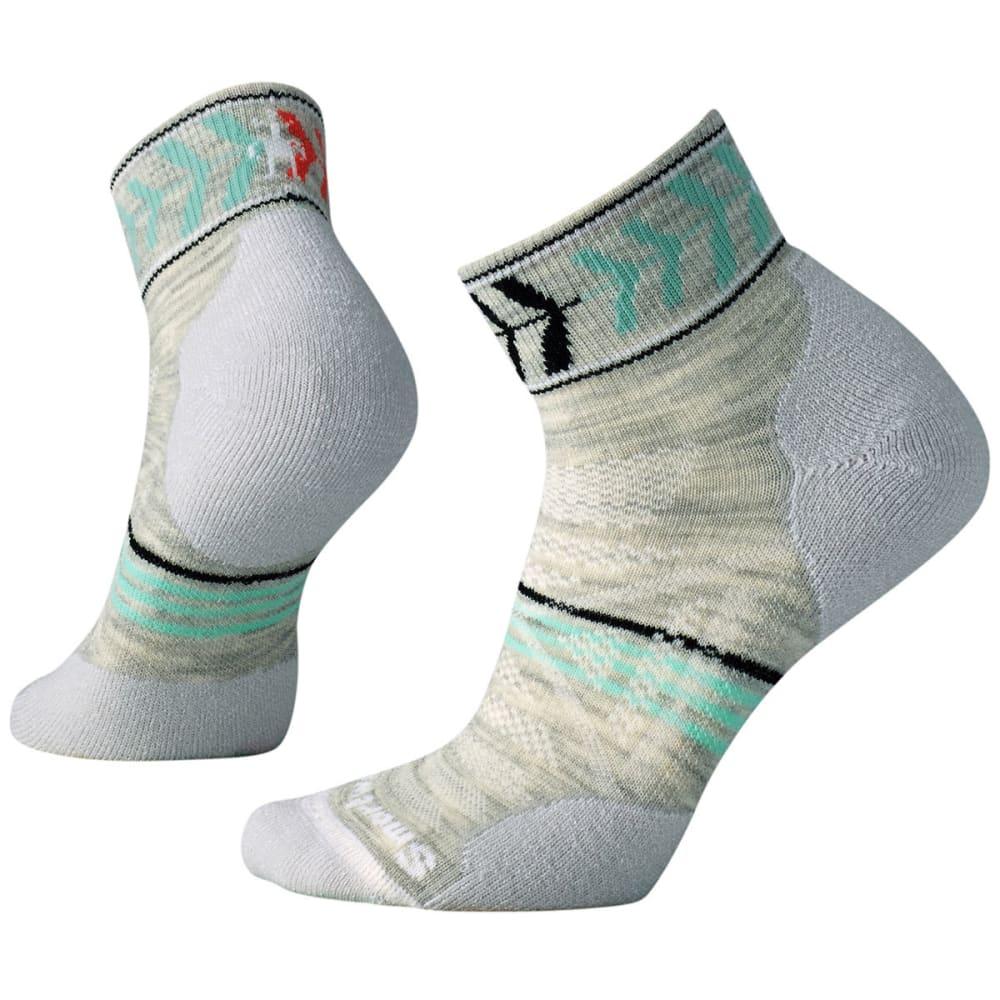 SMARTWOOL Women's PhD Outdoor Light Pattern Mini Socks - 069-ASH