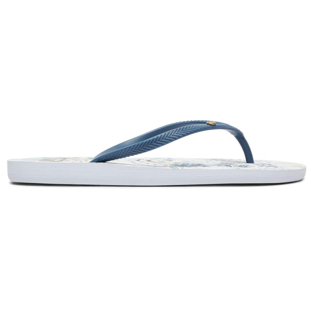 ROXY Women's Bermuda II Flip Flops - LIGHT BLUE