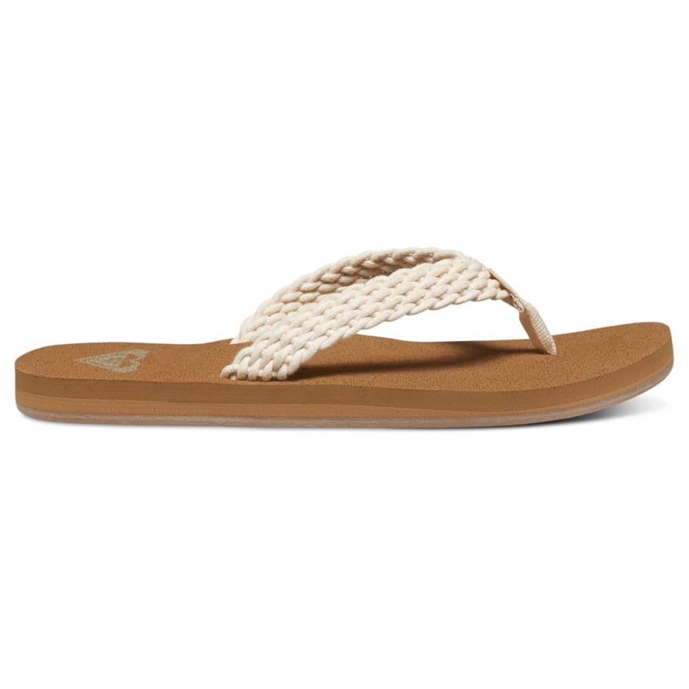 ROXY Women's Porto II Sandals - CREAM