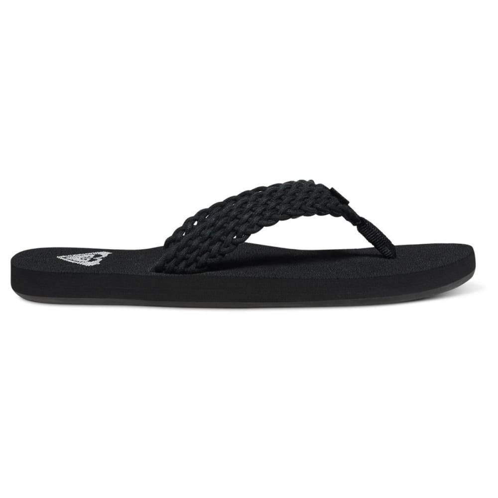 ROXY Women's Porto II Sandals - BLACK