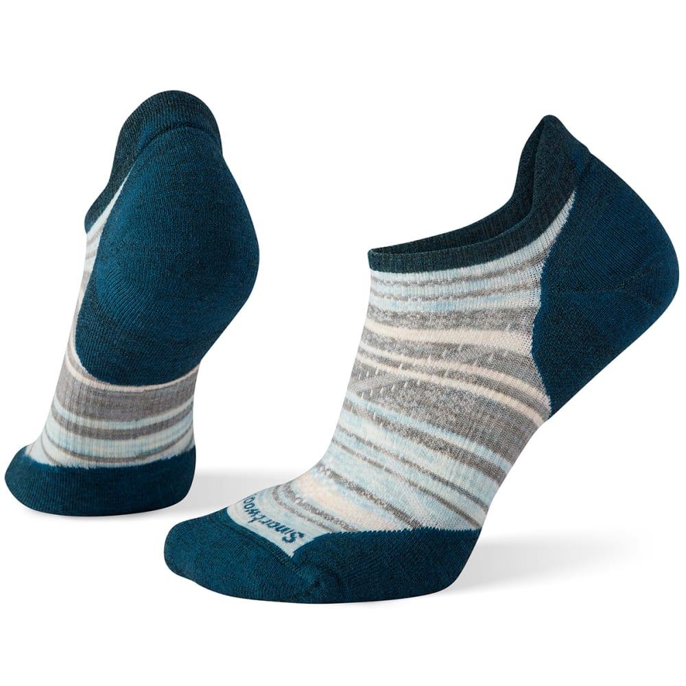 SMARTWOOL Women's PhD Run Light Elite Striped Micro Socks S