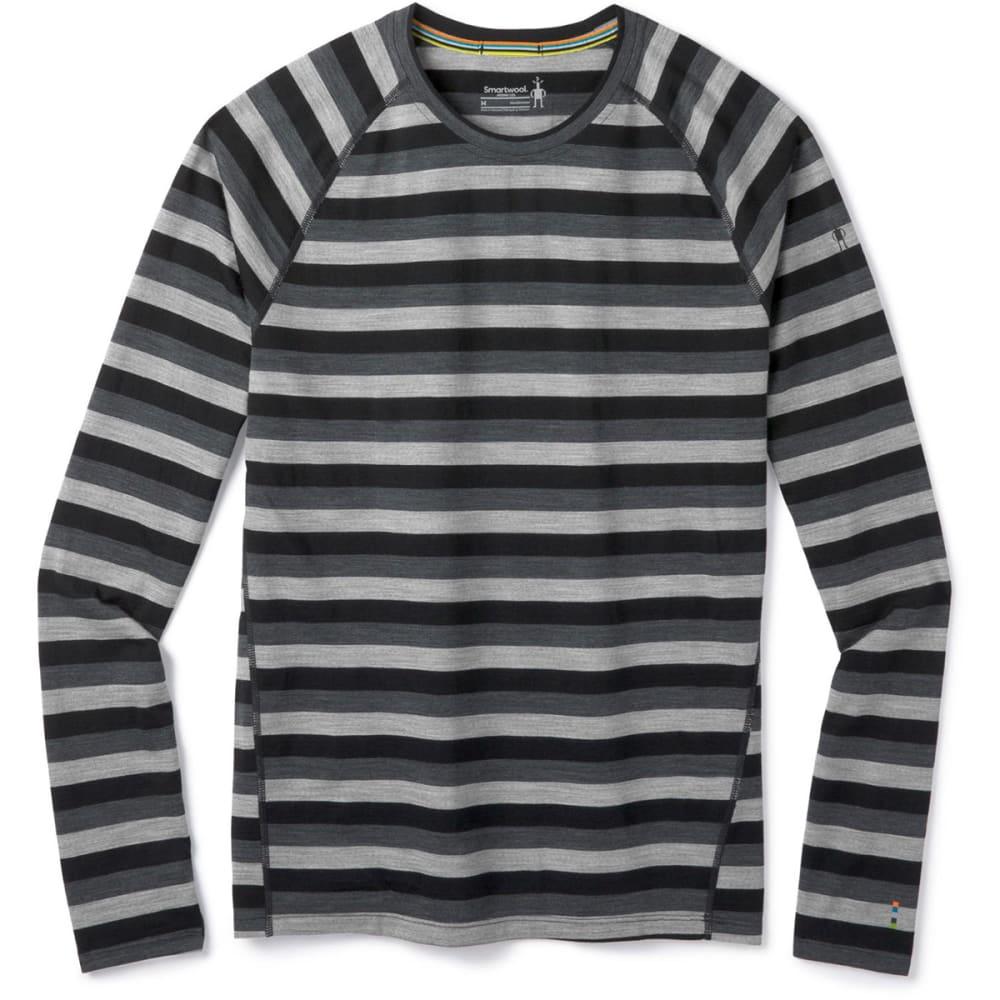 SMARTWOOL Men's Merino 150 Long-Sleeve Baselayer Top - D48-IRON STRIPE