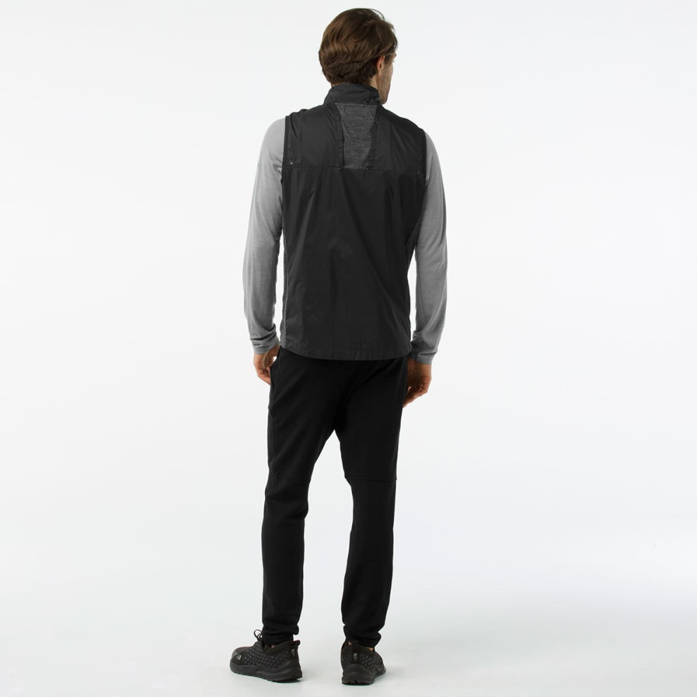 SMARTWOOL Men's PhD Ultra Light Sport Vest - 001-BLACK