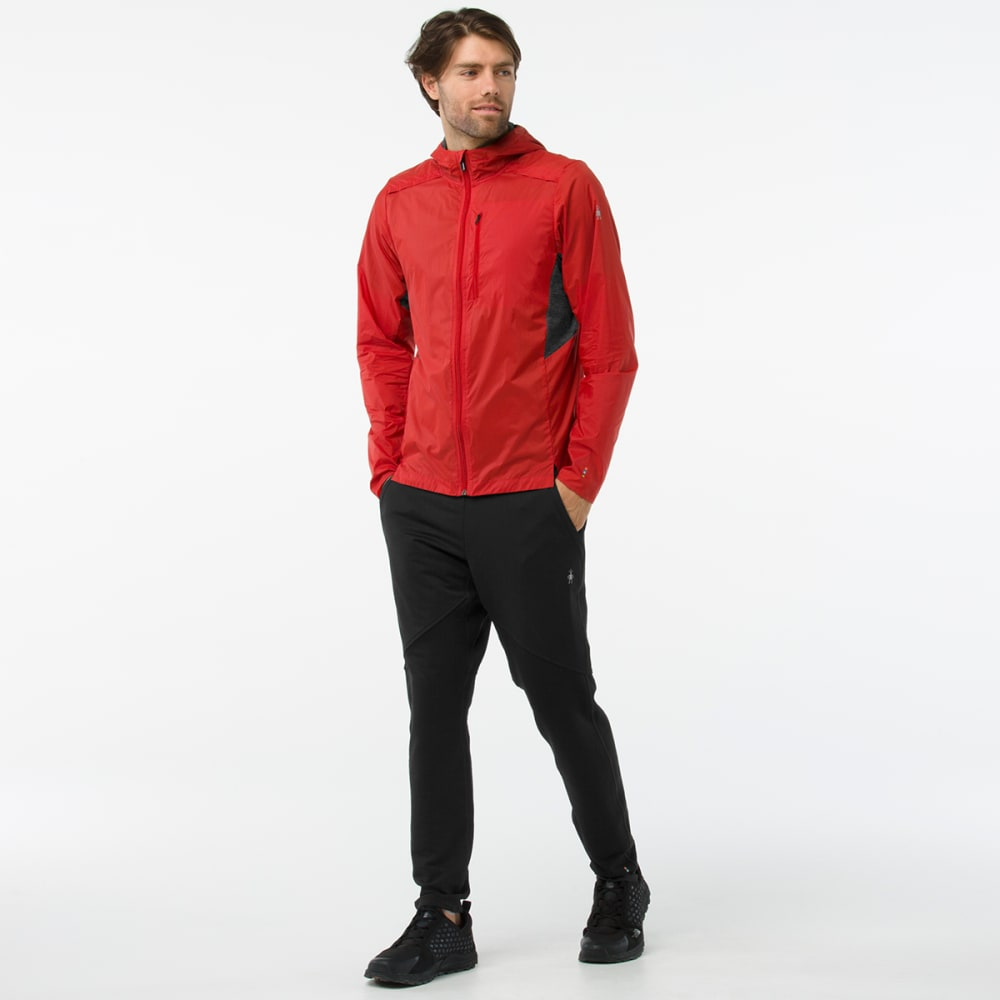 SMARTWOOL Men's PhD Ultra Light Sport Hoody - 823-TANDOORI ORANGE