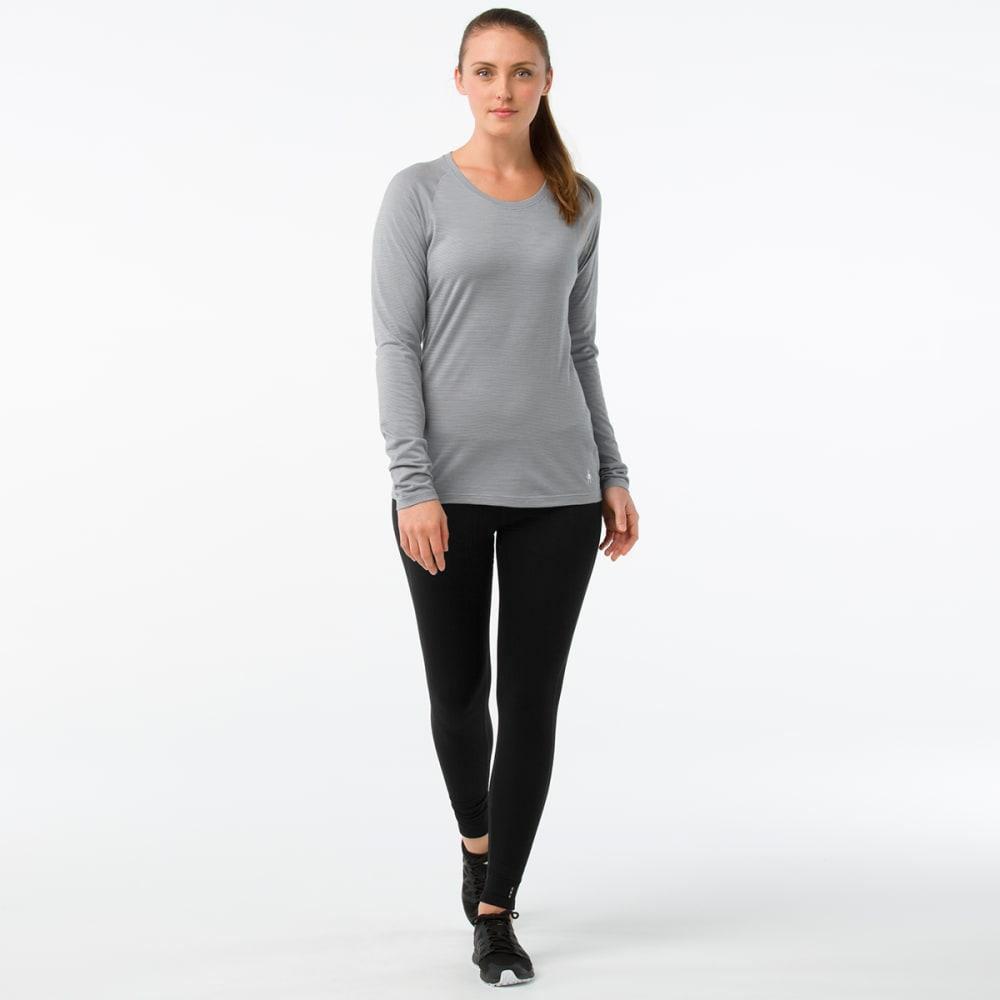 SMARTWOOL Women's Merino 150 Pattern Long-Sleeve Base Layer - 948-DARK PURPLE GREY