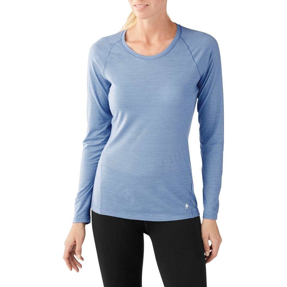 SMARTWOOL Women's Merino 150 Pattern Long-Sleeve Base Layer - 474-STEEL BLUE