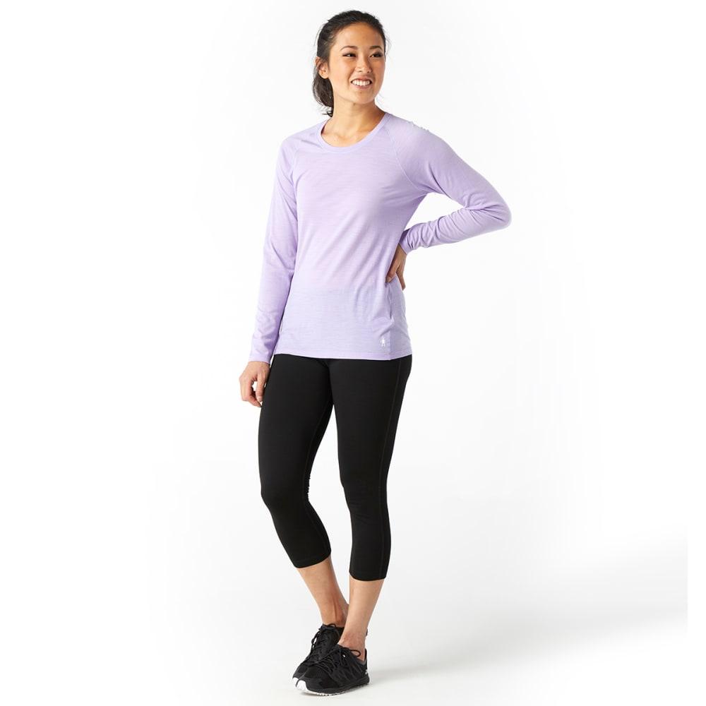 SMARTWOOL Women's Merino 150 Pattern Long-Sleeve Base Layer - 501-CASCADE PURPLE