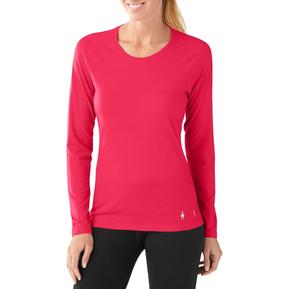 SMARTWOOL Women's Merino 150 Pattern Long-Sleeve Base Layer - 906-POTION PINK