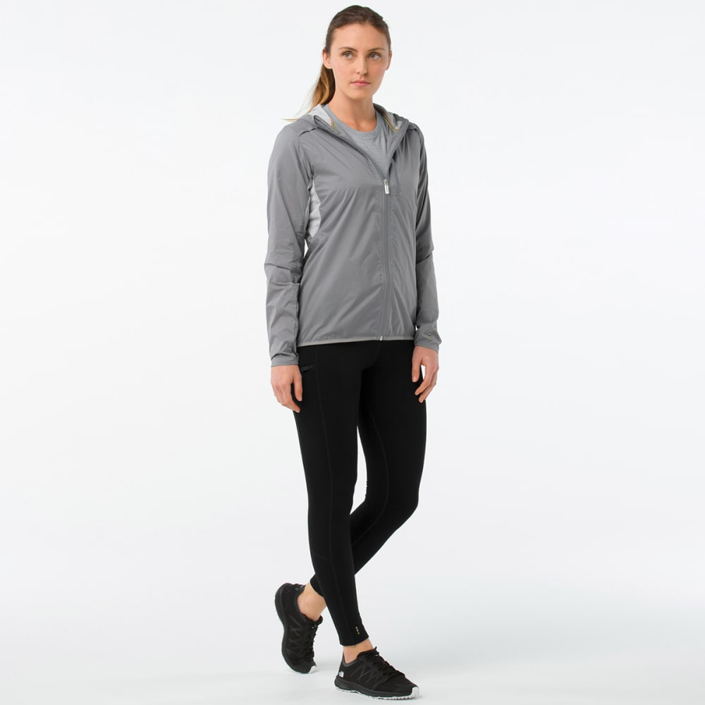 SMARTWOOL Women's PhD® Ultra Light Sport Jacket - 039-GRAY