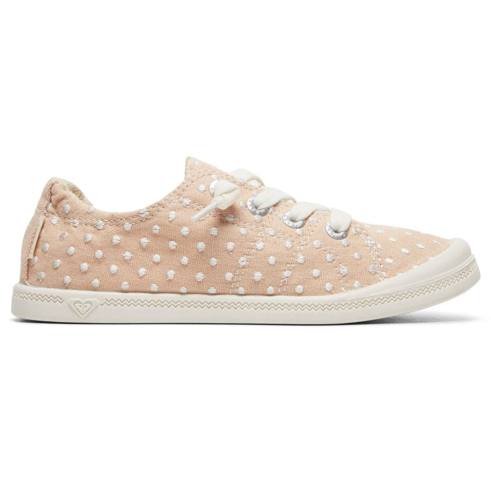 ROXY Girls' Bayshore III Lace-Up Casual Shoes - BLUSH