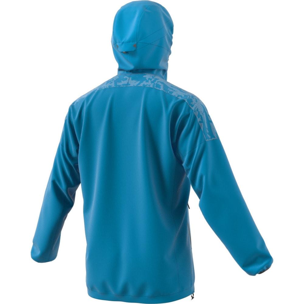 ADIDAS Men's Terrex Agravic Alpha Hooded Shield - BOLD AQUA