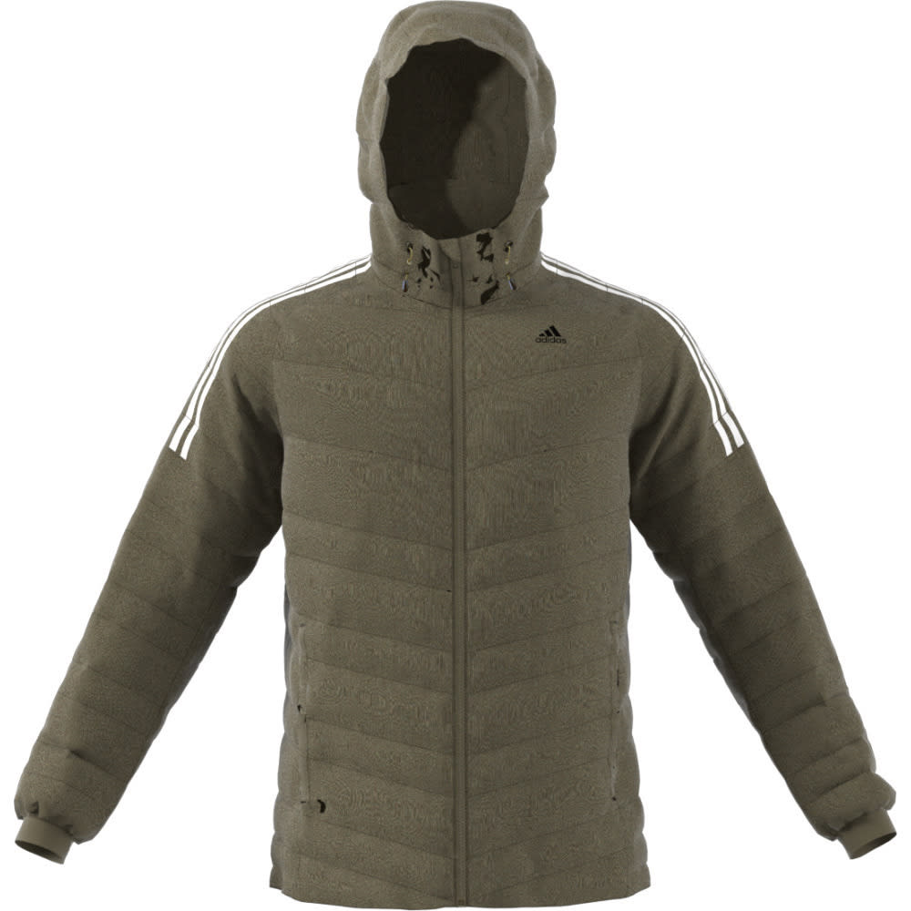 ADIDAS Men's CW Itavic 3 Stripe Jacket - TRACE OLIVE/WHT/BLK