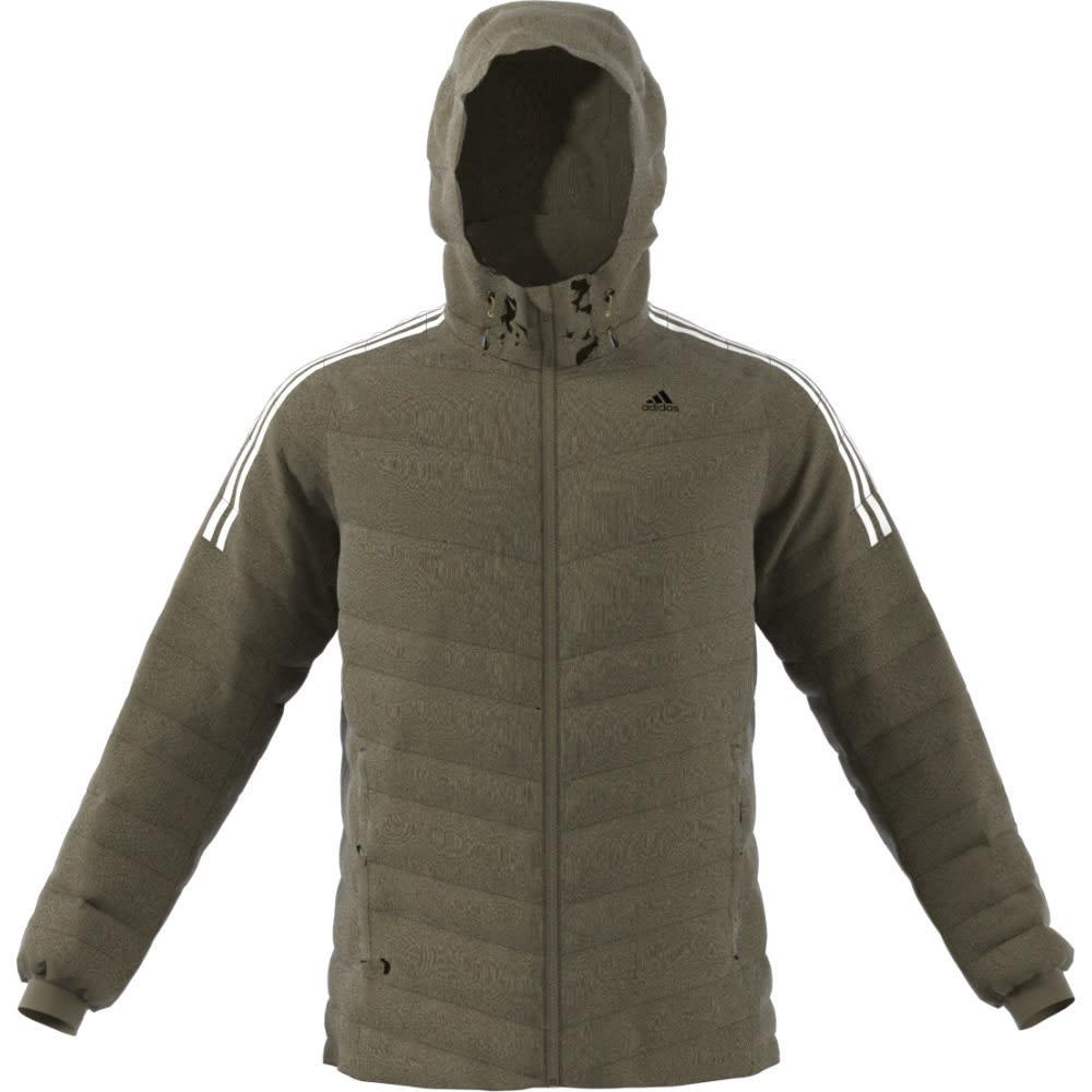 ADIDAS Men's CW Itavic 3 Stripe Jacket - TRACE OLIVE/WHT/BLK