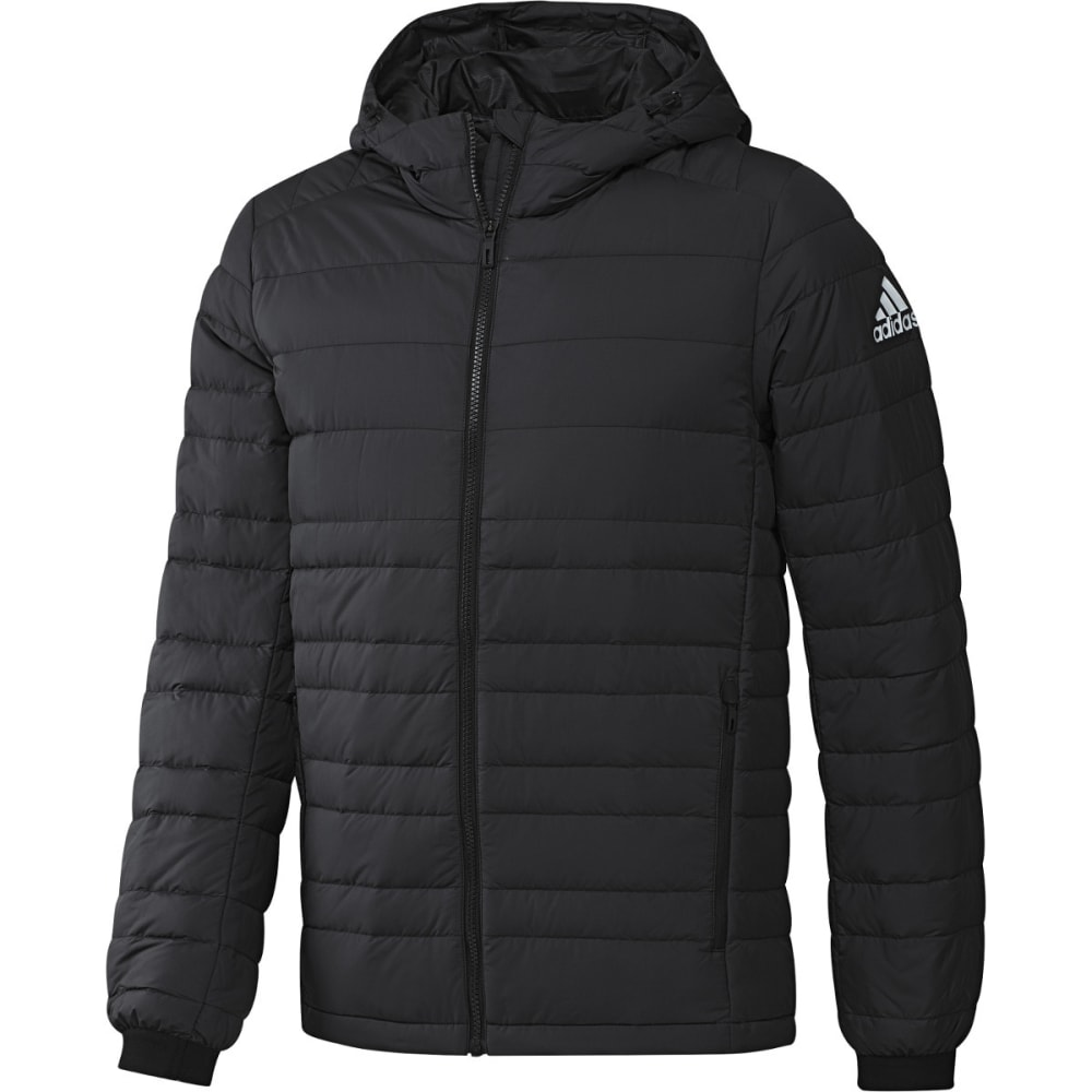 ADIDAS Menu2019s Climawarm Nuvic Hooded Down Jacket - Eastern Mountain Sports