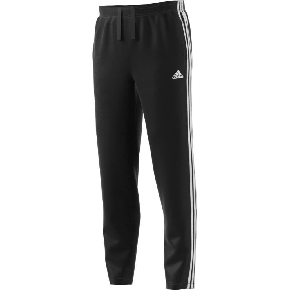 ADIDAS Men's Essentials 3S Tapered Fleece Pant - BLACK/WHITE
