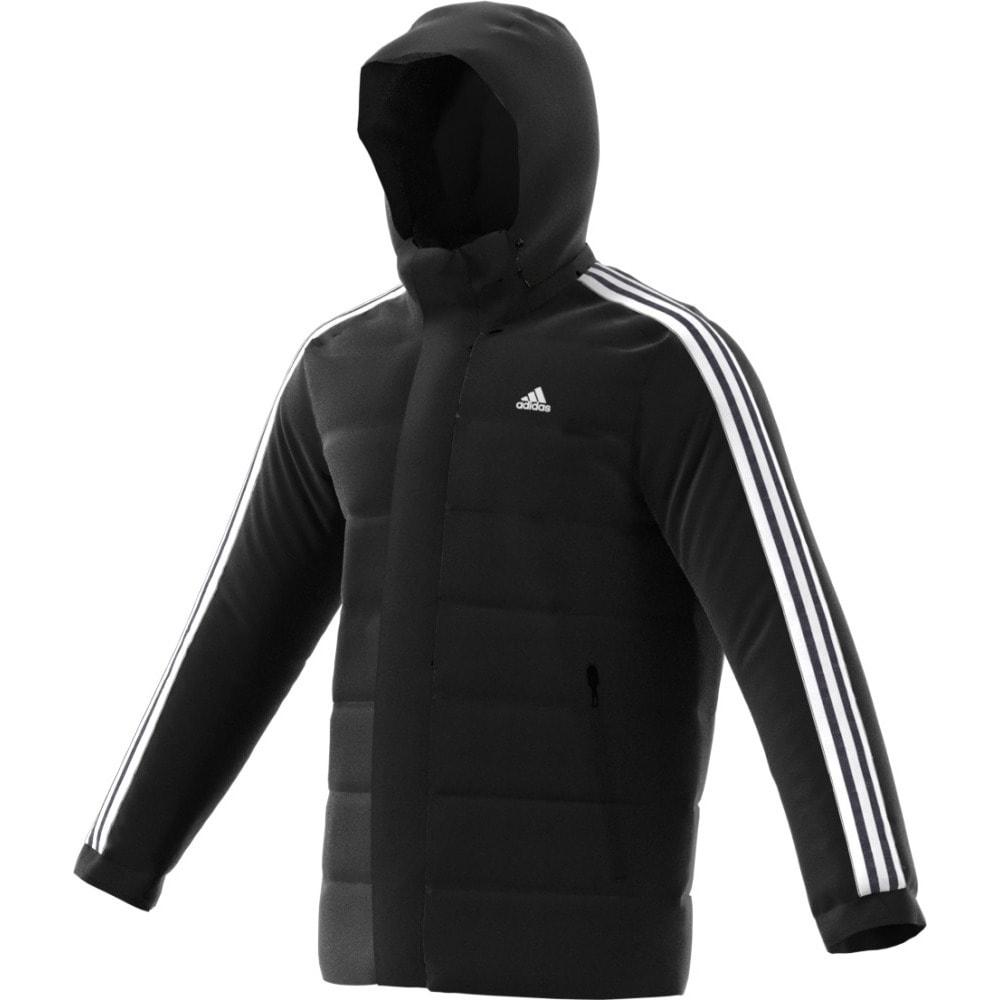 3 stripe adidas hoodie