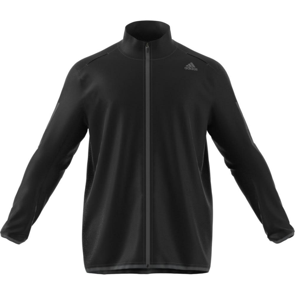 ADIDAS Men's Response Wind Jacket - BLACK/BLACK