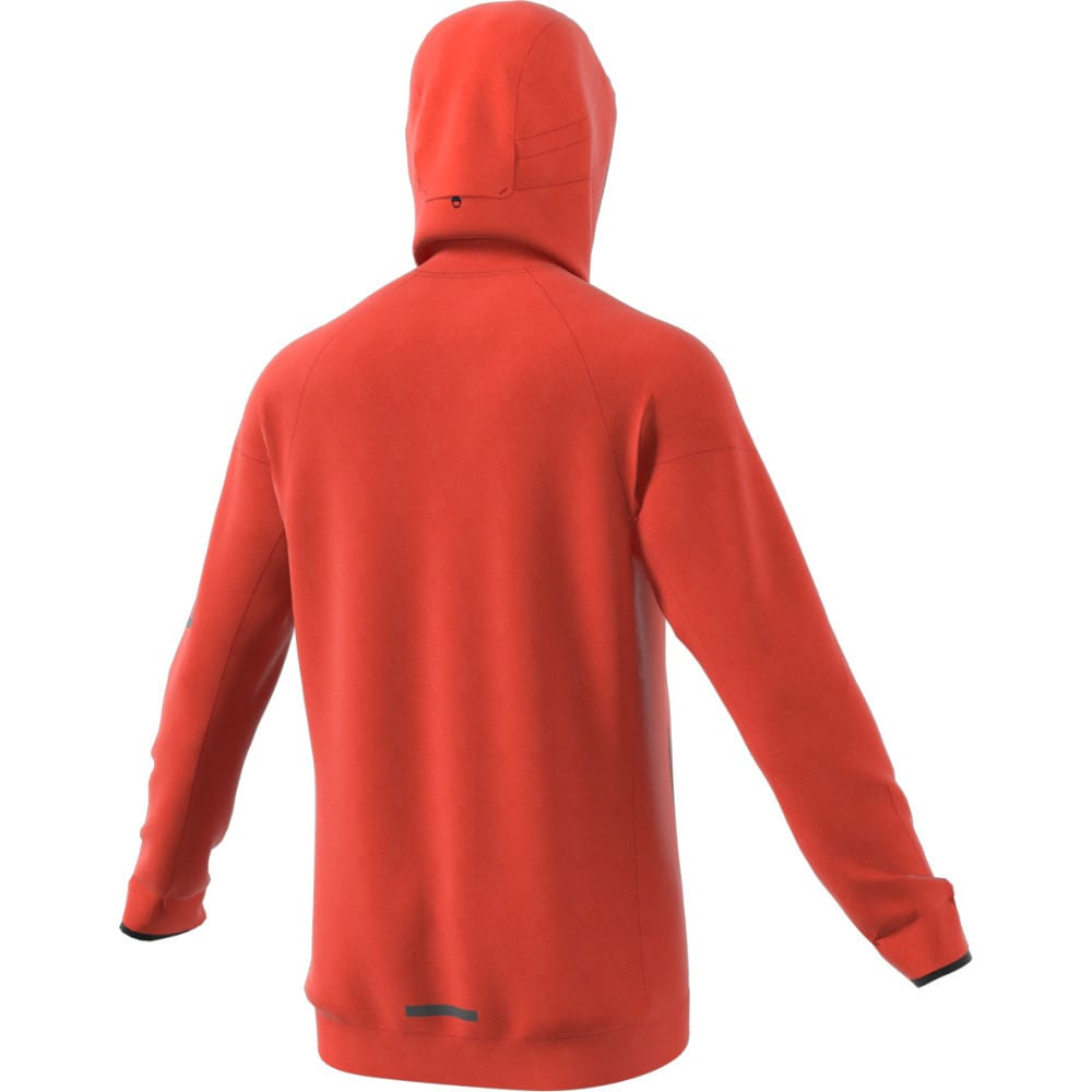 ADIDAS Men's Terrex Climaheat Ultimate Fleece Jacket - ENERGY