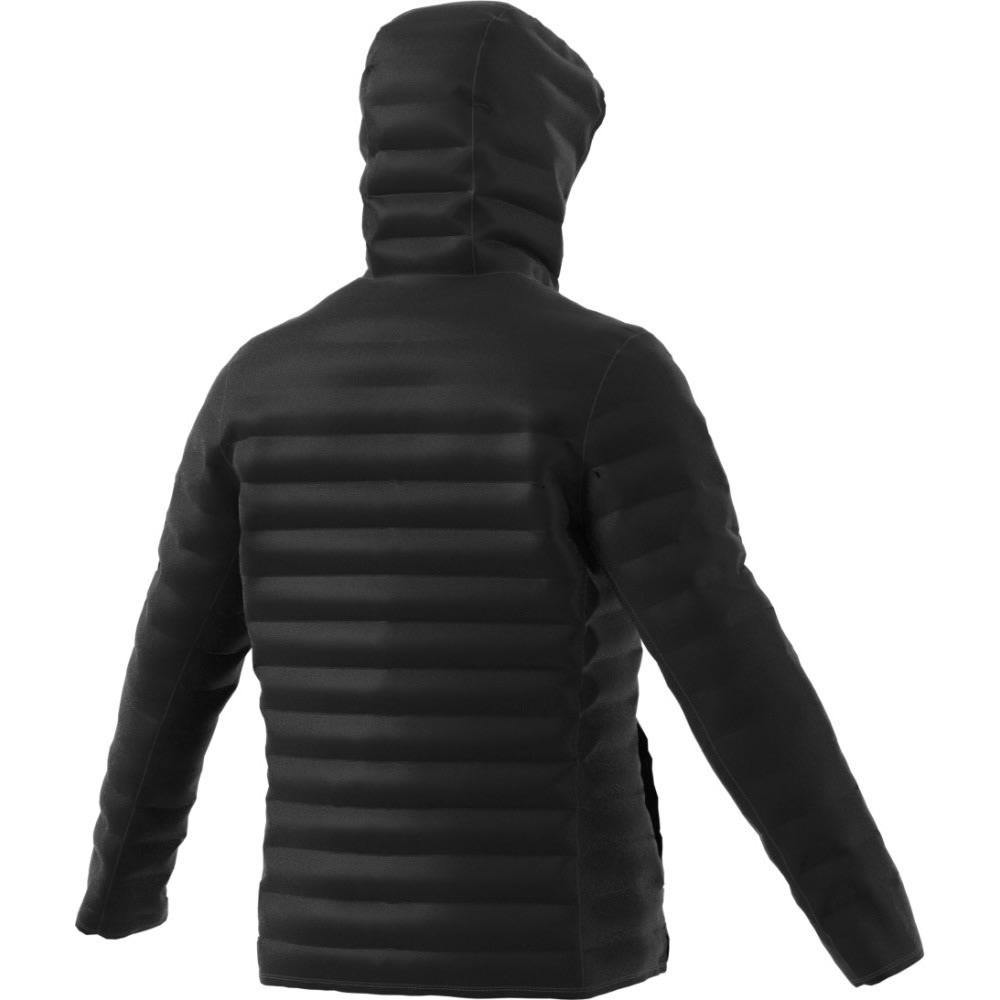 ADIDAS Men's Terrex Lite Down Hooded Jacket - BLACK