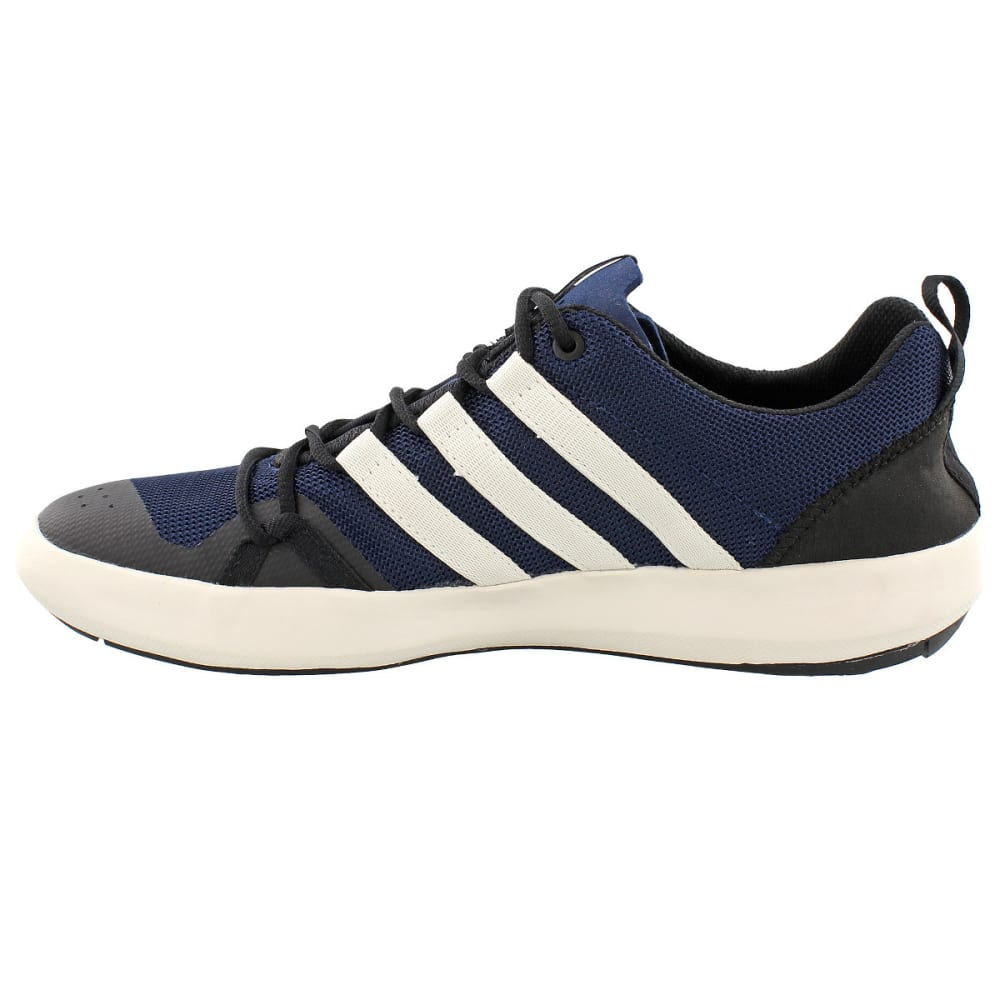 ADIDAS Men's Terrex Climacool Boat Outdoor Shoes, Navy - NAVY/WHITE/BLACK