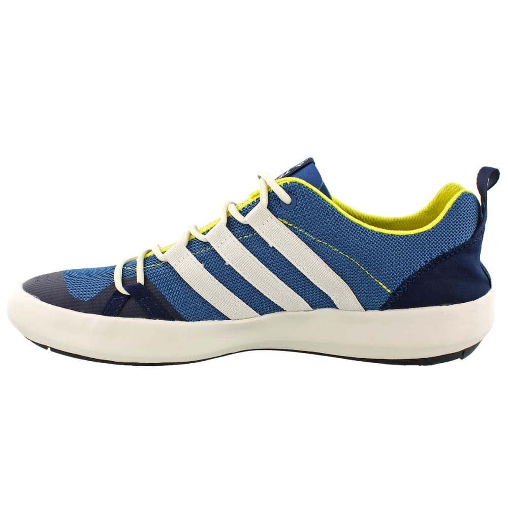 ADIDAS Men's Terrex Climacool Boat Outdoor Shoes, Blue - BLUE/WHITE/YELLOW