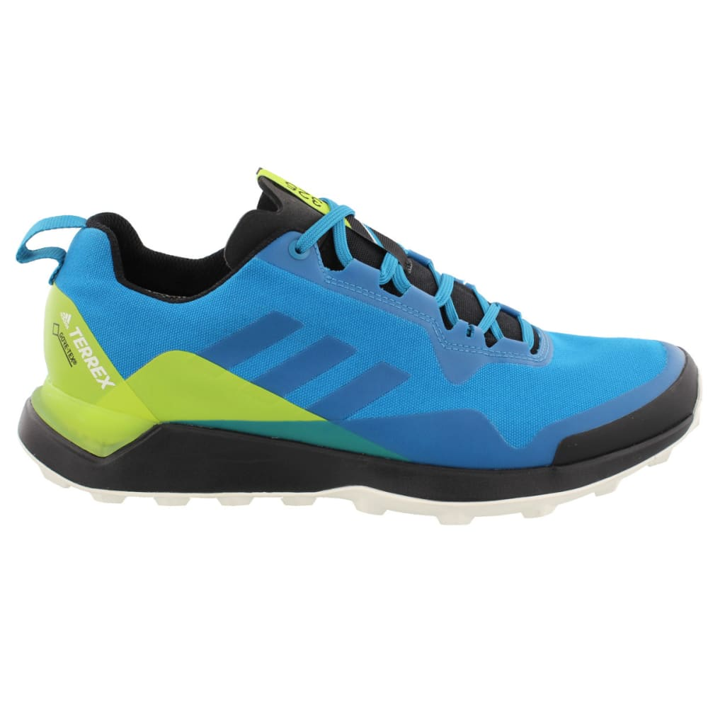 ADIDAS Men's Terrex CMTX GTX Hiking/Trail Running Shoes, Blue - PETROL/PETROL/YELLOW