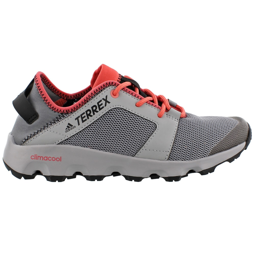 Adidas Womens Terrex Climacool Voyager Sleek Outdoor Shoes, Grey - Black - Size 9.5 BB1916