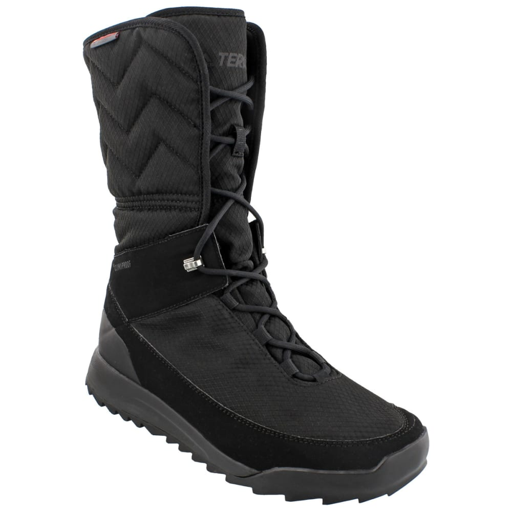 ADIDAS Women's Terrex Choleah High CP Cold Weather Boots, Black - BLACK/BLACK/WHITE