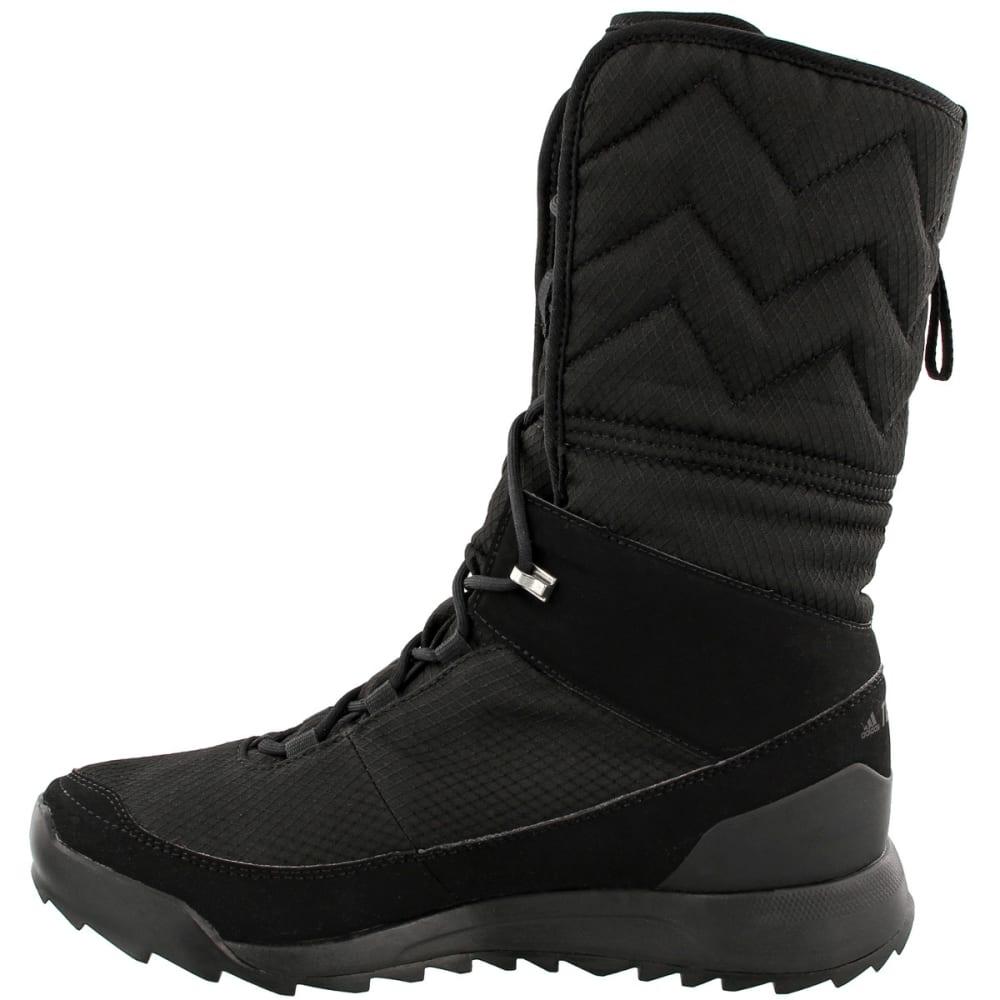 ADIDAS Women's Terrex Choleah High CP Cold Weather Boots, Black - BLACK/BLACK/WHITE